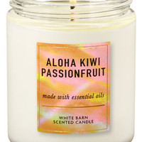 Aloha Kiwi Passionfruit Single Wick Candle | Bath & Body Works