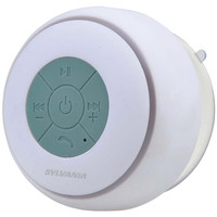 Sylvania Bluetooth Suction Cup Shower Speaker (white)
