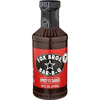 Fox Bros. Spicy BBQ Sauce 16oz