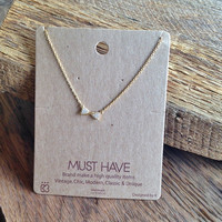 "Twist Bow ""Must Have"" NEcklace"