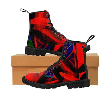 Hot To Trot Women's Canvas Boots