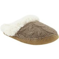Women's Sherpa-Lined Slide Slippers | Old Navy