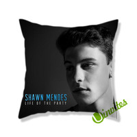 Shawn Mendes Life Of The Party Square Pillow Cover