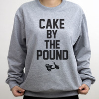 Cake By The Pound Sweatshirt  Styles Sweater Crew neck Shirt – Size S M L XL