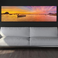 wall art Painting canvas painting Picture sea view wall picture seascape art print canvas and posters picture  art home decor