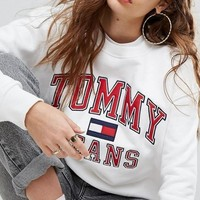 Tommy Jeans Cotton Crewneck sweater-3