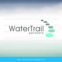 OOAK Premade Logo Design - Water Path - Perfect for a psychologist or a wellness center