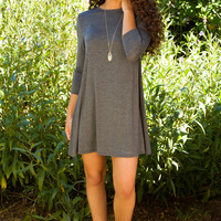 Shop Priceless Maeve Dress - Grey