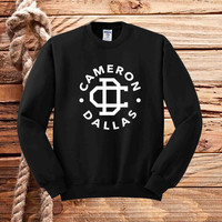 cameron dallas logo sweater unisex adults