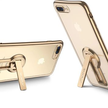 Luxury Plated TPU Case with kickstand