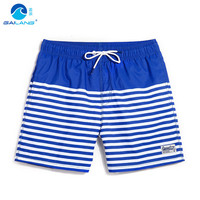 Board Shorts men Summer Sports Blue striped plus running shorts joggers Shorts BoardShorts bathing suit sweat mens running B5