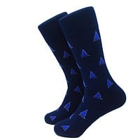 Sailboat Socks - Men's Mid Calf