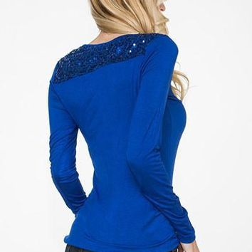 Hips and Hearts Sequin Sweater