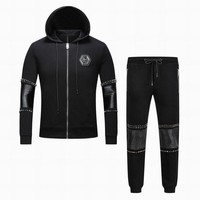 Philipp Plein Hooded Pullover Set Men M-3XL PP Hooded Pullover Set Men