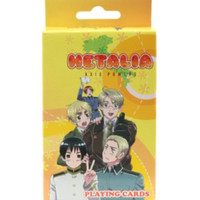 Hetalia: Axis Powers Playing Cards