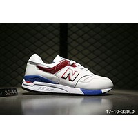 NEW BALANCE Women Men Casual Running Sport Shoes Sneakers White Red Blue I-A0-HXYDXPF