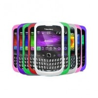 Ten Silicone Cases / Skins / Covers for Blackberry Curve 8520 / 8530 / 9300 / 9330 /3G - Black, Solid White, Clear White, Hot Pink, Light Pink, Purple, Green, Red, Dr. Blue, Sky Blue