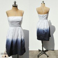 J. Crew ombre Strapless Dress Size 4 Small