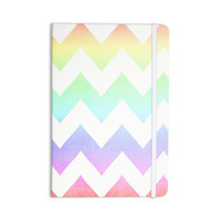 """Catherine McDonald """"Water Color"""" Chevron Everything Notebook"""