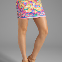 Clover Canyon Flower Archway Neoprene Skirt in Pink from REVOLVEclothing.com
