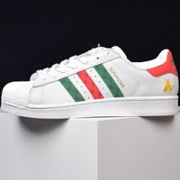 Adidas Clover Superstar Gucci Joint Shell Shoes F-CSXY white