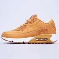 NIKE AIR MAX 90 Trending Women Men Casual Air Cushion Sport Shoes Sneakers Brown