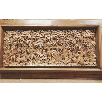 Wood carvings From Indonesia