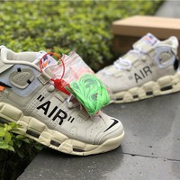 Hot Sale Air More Uptempo x Off-White Shoes 36-46