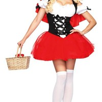 Adult Racy Red Riding Hood Costume-Storybook Costumes-Womens Costumes-Halloween Costumes-Categories- Party City