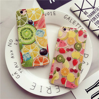Creative fruit mobile phone case for iphone 6 6s 6plus 6s plus + Nice gift box!