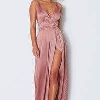 Akela Maxi Dress Dusty Pink
