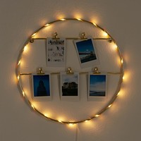 Light-Up Photo Clip Frame | Urban Outfitters