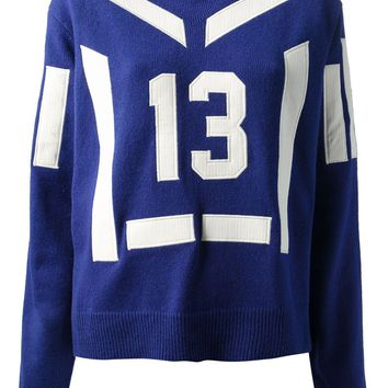 Sea numbered sweater
