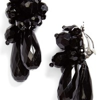 Women's Simone Rocha Clip Earrings - Jet