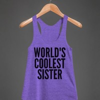 Tri Orchid Tank | Fun Gifts For Family Sisters Shirts