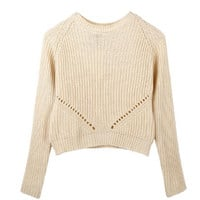 Knitted Long Sleeve Sweater