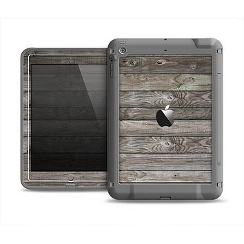 The Rough Wooden Planks V4 Apple iPad Air LifeProof Fre Case Skin Set