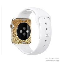 The Vintage Antique Gold Vector Pattern Full-Body Skin Kit for the Apple Watch