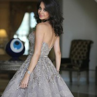 Deluxe Strapless Homecoming Dresses Free Fast Shipping