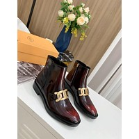 TODS  Women Casual Shoes Boots fashionable casual leather Women Heels Sandal Shoes
