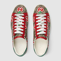 Women's Ace sneaker with GG apple print
