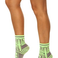 Stance Women's Durango Socks, Yellow, One Size