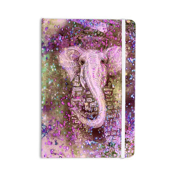"""Marianna Tankelevich """"Pink Dust Magic"""" Elephant Sparkle Everything Notebook"""
