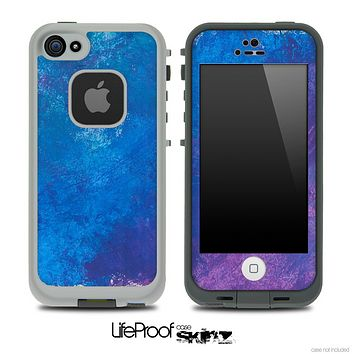 Smudged Paint Skin for the iPhone 5 or 4/4s LifeProof Case