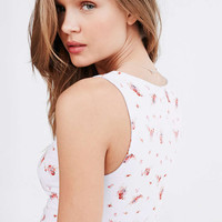 Kimchi Blue Floral Print Bustier Cami - Urban Outfitters