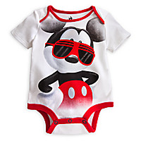 Mickey Mouse Disney Cuddly Bodysuit for Baby   Disney Store