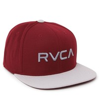 RVCA Twill Melange Snapback Hat - Mens Backpack