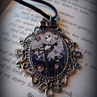 Jack Nightmare before Christmas Cameo by flamethrowerluv13 on Etsy