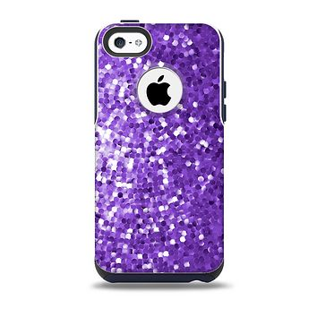 The Purple Shaded Sequence Skin for the iPhone 5c OtterBox Commuter Case
