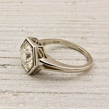 1.75 carat Old European Cut Diamond Engagement by ErstwhileJewelry